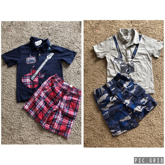 TCP Toddler Boys Summer Outfits Size 4T NEW!